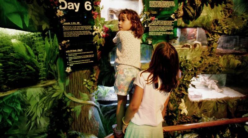 MUSEUM: USA har flere kreasjonistmuseer, her fra California. FOTO: NTB SCANPIX