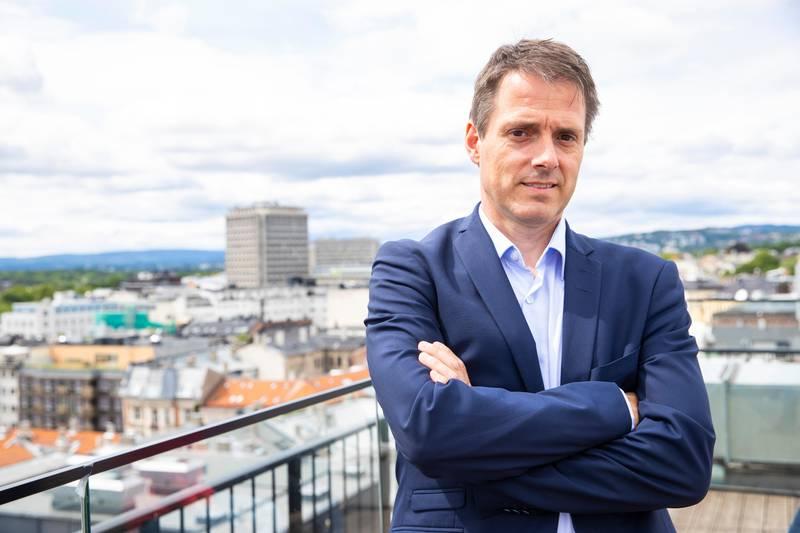 Oslo  20180621. Ivar Horneland Kristensen blir ny administrerende direktør i arbeidsgiverorganisasjonen Virke. Foto: Håkon Mosvold Larsen / NTB