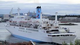 Åtte cruiseskip kommer denne uken