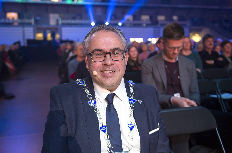 Tom Georg Indrevik er leder av Vestland Høyre og ordfører i Øygarden kommune.
