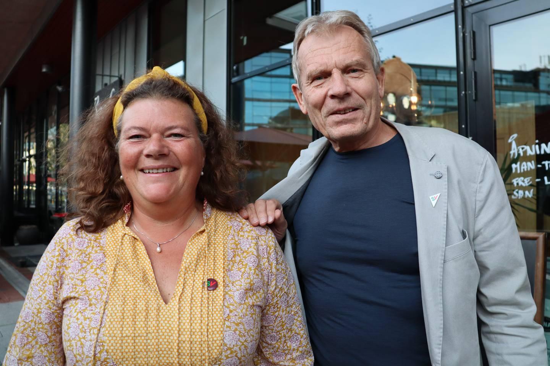 Kathy Lie (SV) og Arne Nævra (SV)