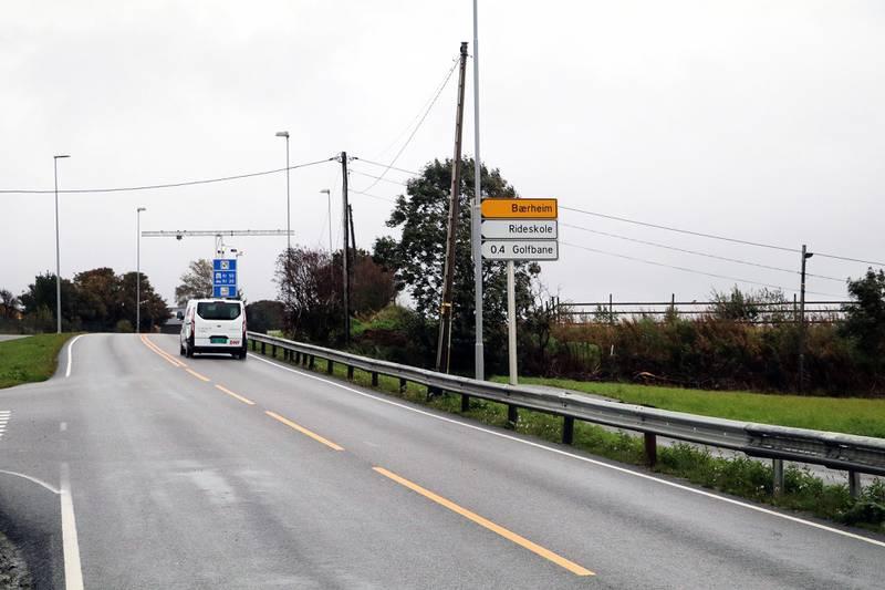 Bomstasjonen ved golfbanen på Bærheim skal settes ut av drift fra mandag av. Alle foto: Stein Roger Fossmo