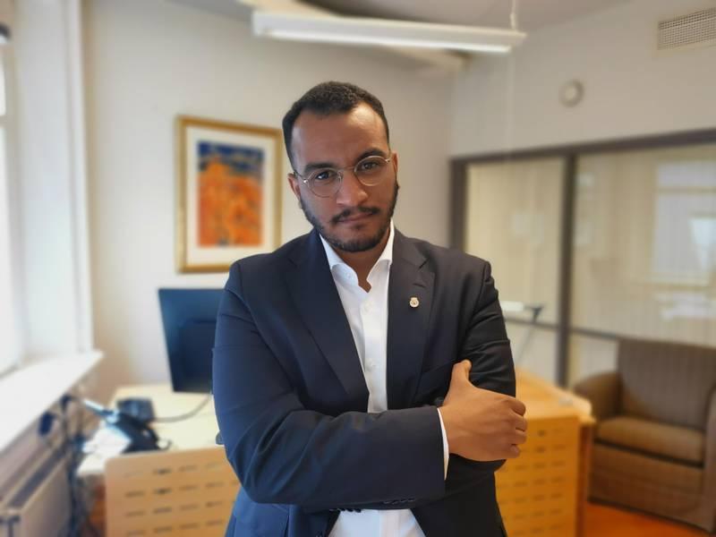 Omar Samy Gamal (SV) er Oslos nye byråd for arbeid, sosiale tjenester og mangfold.
