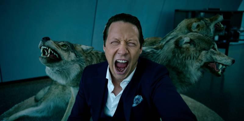 Simon J. Berger spiller Adam i NRK-serien Exit, en serie basert på ekte historier fra finansmiljøet i Norge.