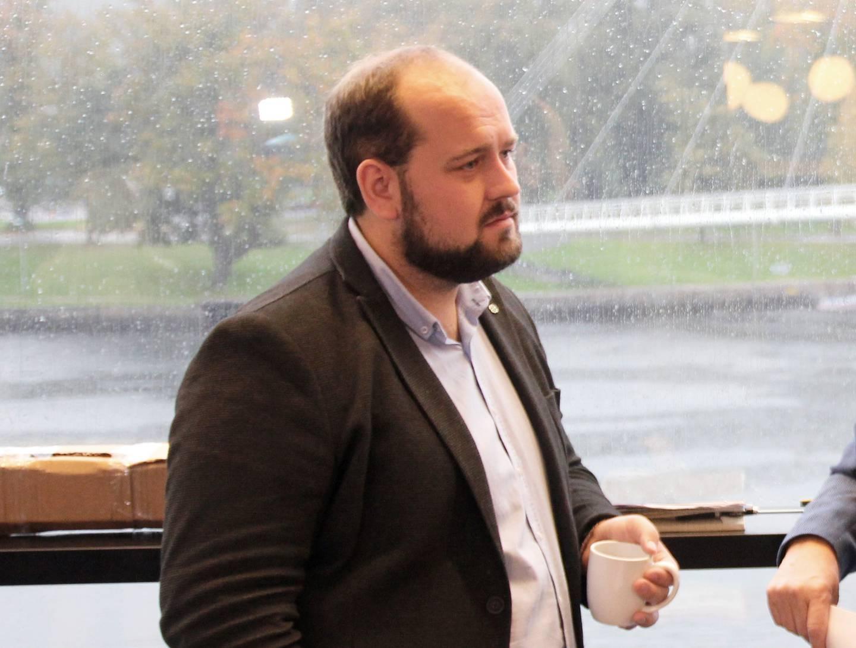 Simon Nordanger (Sp), tidligere gruppeleder for posisjon.