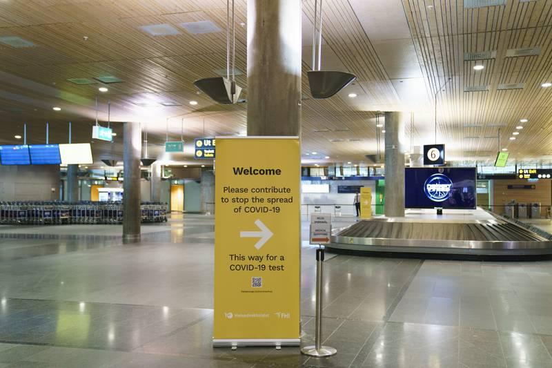 Reisende fra europeiske land med lite smitte slipper nå karantenehotell. Foto: Torstein Bøe / NTB