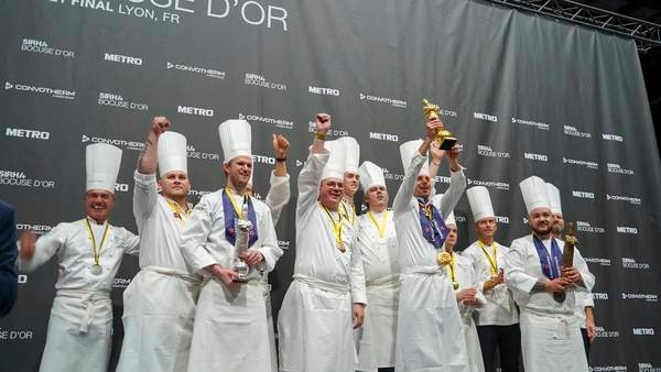 Støtter Bocuse d'Or Europa 2024