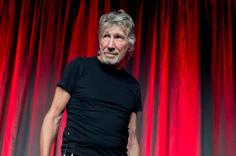 Bærum  20180813. Tidligere Pink Floyd medlem Roger Waters  på  Nobels Fredssenter. Foto: Vidar Ruud / NTB scanpix