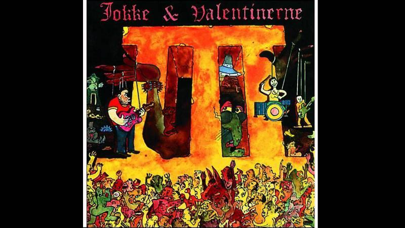 Jokke & Valentinerne: «III» (1990). Design: Christopher Nielsen.