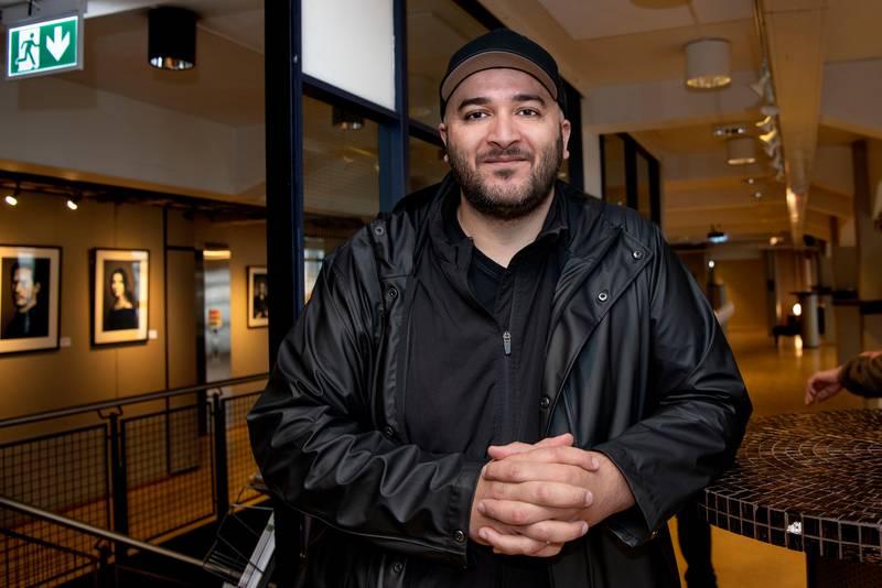 Mangfoldsseminar Norsk Filminstitutt. Øyet som ser – mangfold og representasjon i norsk film. Khalid Maimouni, produsent for bl.a «Fluefangeren»