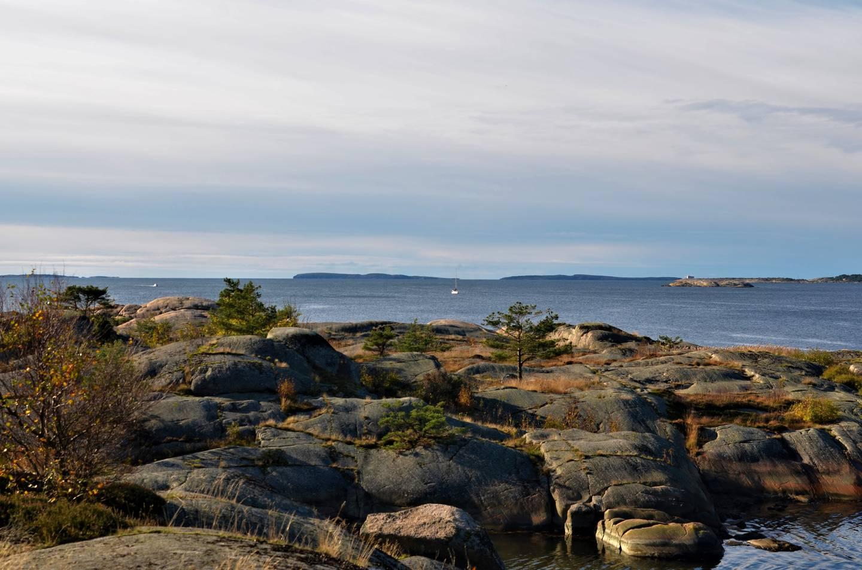 Rett ved friarealet Glufsa ligger Pynten. Her kan du skue utover Lera og mot Strømtangen, Struten og Søsterøyene.