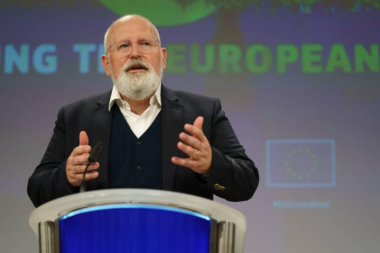 Visepresident i EU-kommisjonen Frans Timmermans.