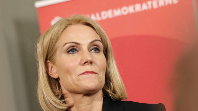 Statsminister Helle Thorning-Schmidt erkjente valgnederlaget i natt. FOTO: Gregers Tycho/NTB scanpix