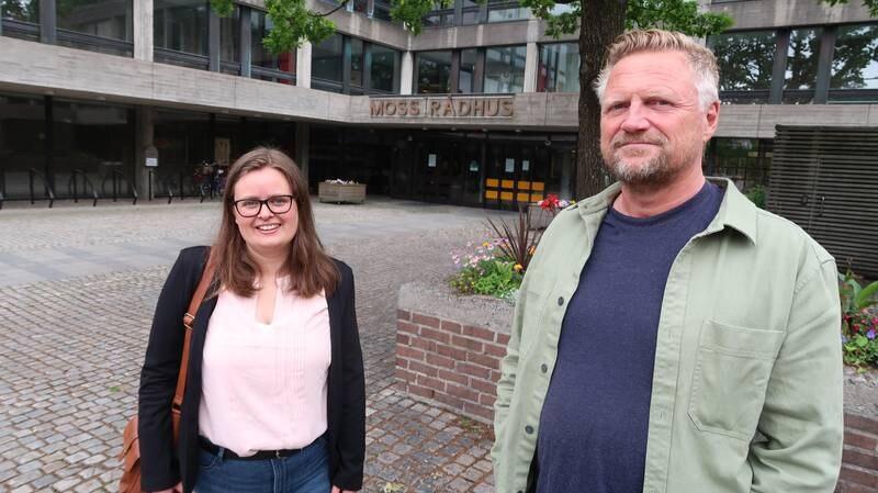 Kasy Galgalo og Finn A. Jensen,  Moss KrF.  09. juni 2021
