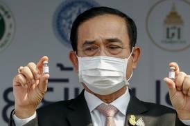 Munnbindbot til Thailands statsminister
