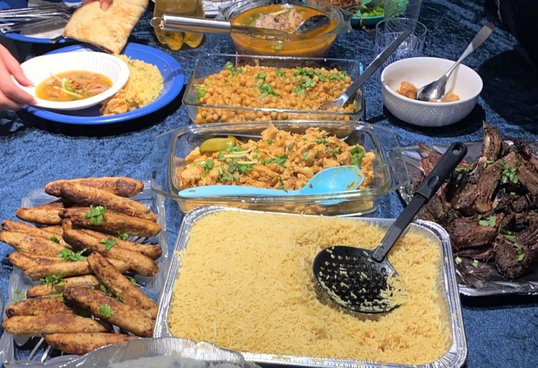 På store Eid koser seg man med ekstra god mat.
