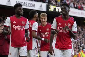 Ødegaards Arsenal knuste nabo Tottenham - slik endte Premier League-runden