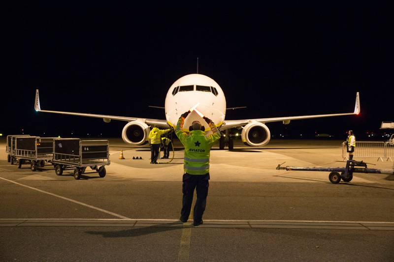 Ryanair droppet Rygge etter at flypassasjeravgiften ble innført. Nå vil Høyre fjerne den.