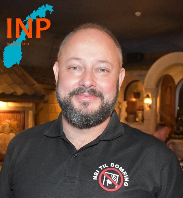 Anders Lunde, stortingskandidat Industri- og Næringspartiet (INP)