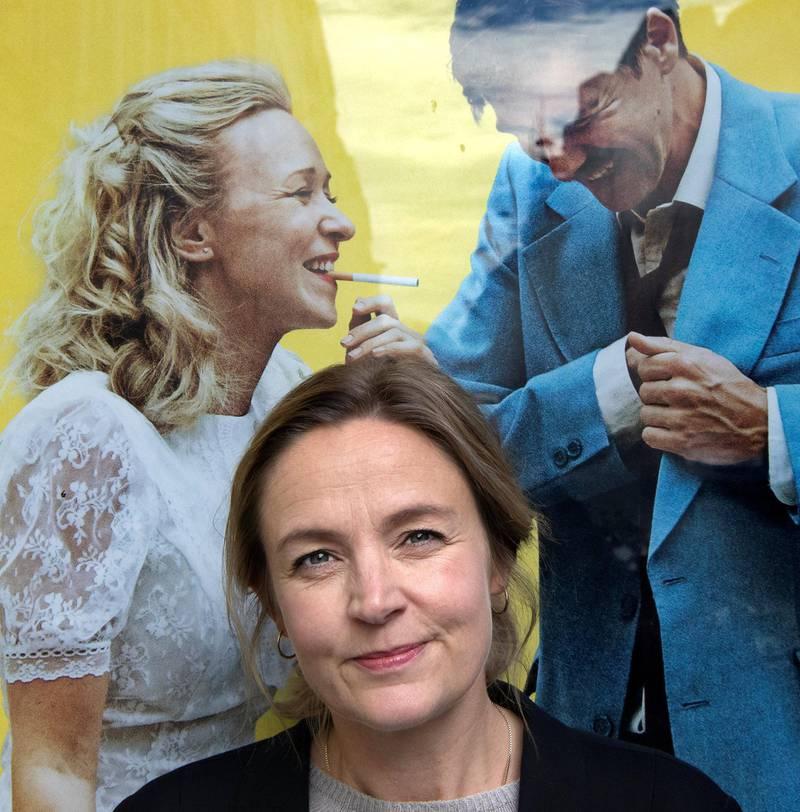 Charlotte Blom har laget film inspirert av miljøet hun selv vokste opp i: Et arbeiderklassemiljø i Sarpsborg. Foto: Mimsy Møller