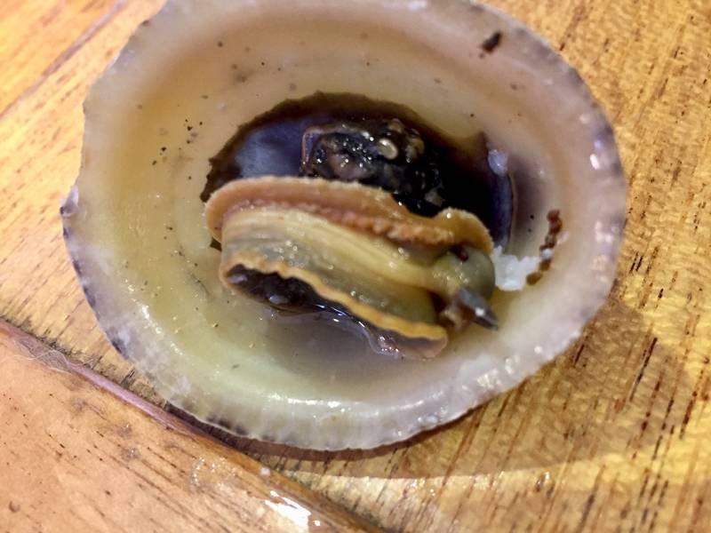 Mat fra havet - albueskjell.