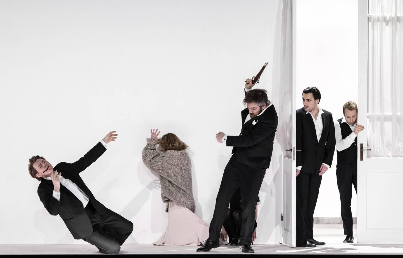 """Fra """"Eugen Onegin"""" på Den Norske Opera & Ballett. Forestillingen er nå avlyst på grunn av teaterstreiken"""