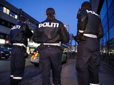 Skal ha blitt svært lite fornøyd med å bli pågrepet av politiet