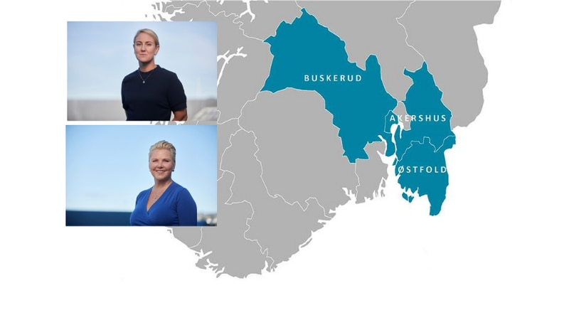 Fylkesrådsleder Tonje Brenna (Ap) og fylkesråd for plan, klima og miljø Anne Beathe Tvinnereim (Sp) håper på mange gode innspill når det skal lages tre nye regionale planer for Viken.