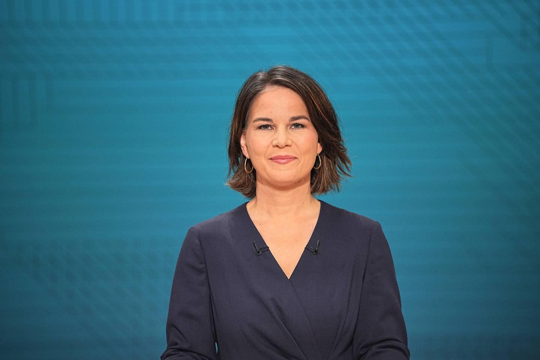 Leder og kanslerkandidat for partiet De grønne i Tyskland, Annalena Baerbock.
