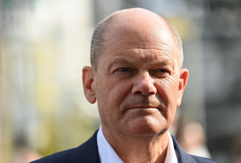 Kanslerkandidat for partiet SPD, Olaf Scholz.