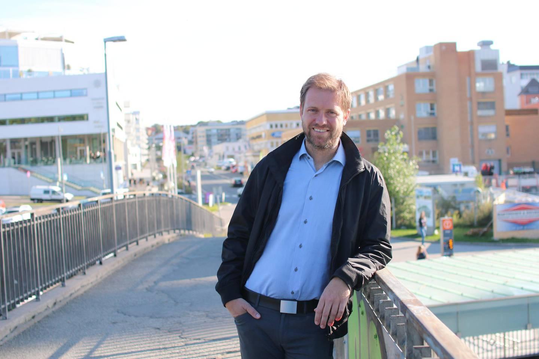 Punger ut: Andreas Halse er miljøpolitisk talsperson for Oslo Ap. Her fotografert  i en såvidt vakrere årstid.