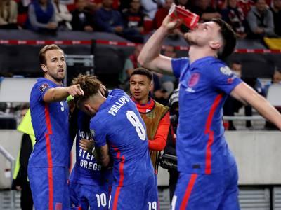 De engelske spillerne svarte publikum – feide Ungarn av banen