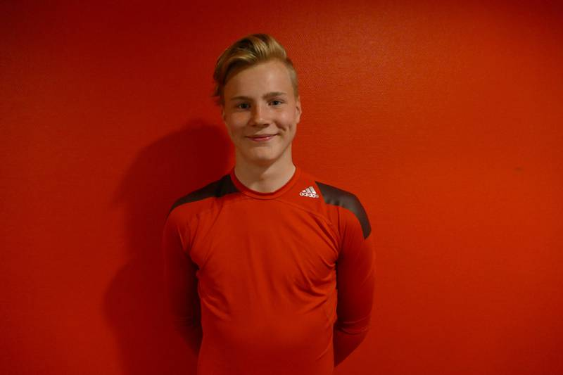 Slik ser han ut, Vålerengas nye keeper, Kristoffer Klaesson. FOTO: PER ERIK MOEN