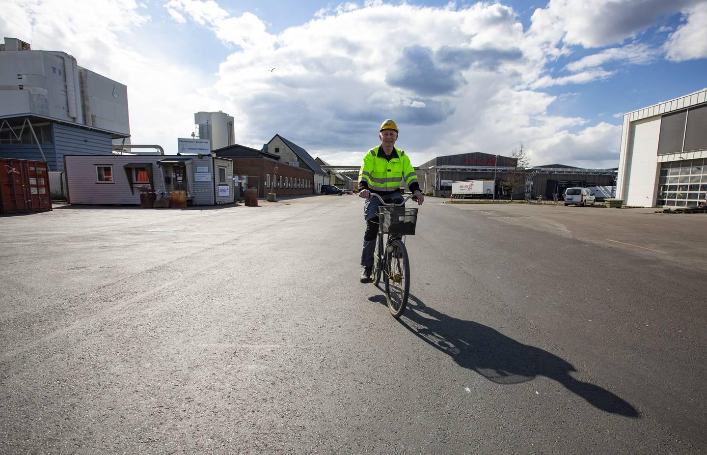 Bjørn Steinar Kristiansen (63), «granulog» ved Kronos Titan. Ansatt siden 1976,
