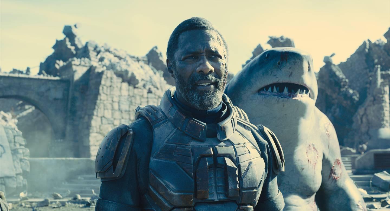 Idris Elba spiller Bloodsport mens Sylvester Stallone gir stemme til King Shark i sommerens superskurkeventyr på kino.