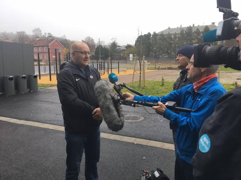 NRK og TV2 vil også snakke med Alf Hansen i NFF om Grorud-saken fredag.