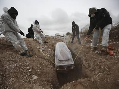 Mexico oppjusterer med 120.000 koronadødsfall