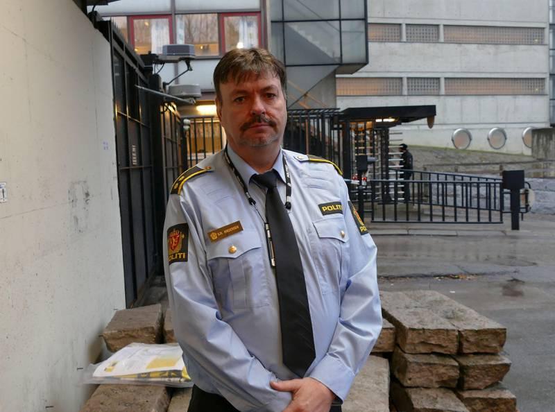 Politi: Svein-Rune Andersen har ansvaret for det åpne rusmiljøet i Oslo.