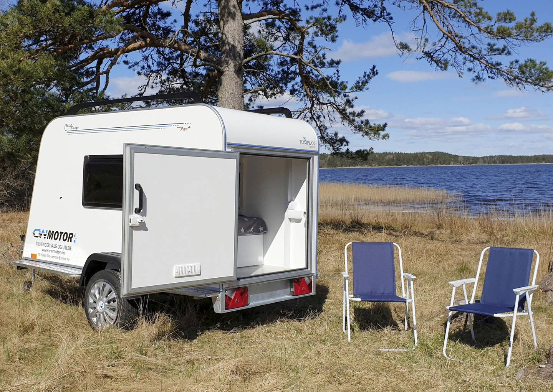 Micro Camper fra CW Motor er blant de enkleste og rimeligste løsningene på  markedet i dag. Foto: CW Motor/NTB scanpix
