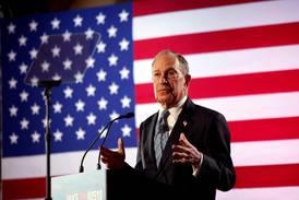 Bloomberg i skuddlinjen til de andre demokratene