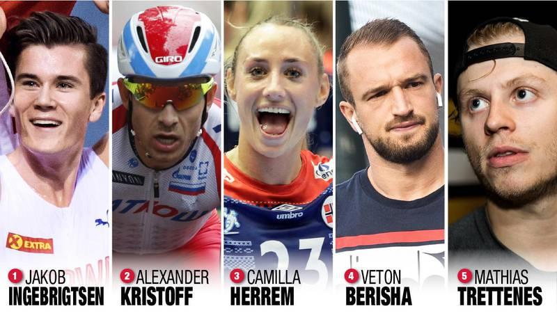 Du bestemmer hvem som blir årets sportsnavn i RA 2020. Stem på en av de fem kandidatene nederst i saken.