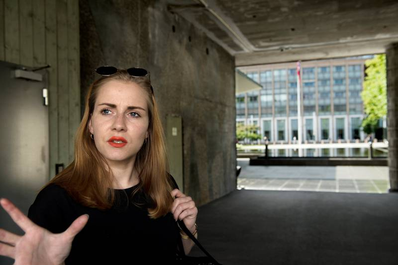 Kritisk: Helle Gannestad er lei av å være «kjærlighetsjenta» fra 2011 og vil heller snakke om menneskerettigheter og rasisme.
