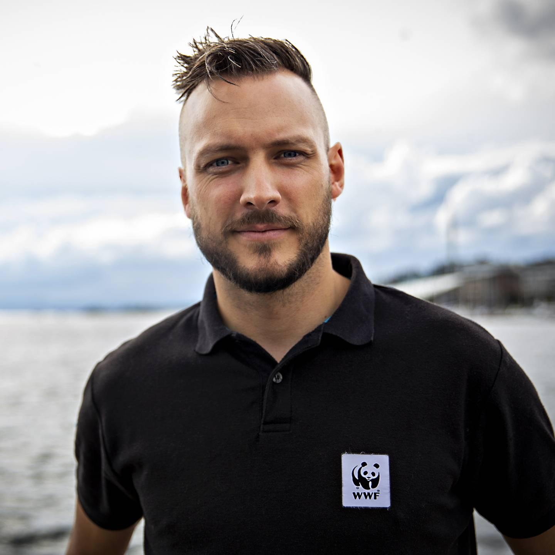 Marinbiolog Fredrik Myhre