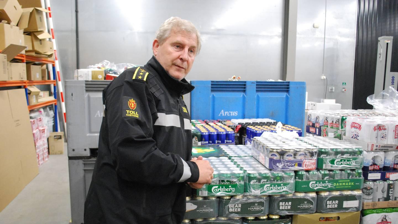 Seksjonssjef Per Kristian Grandahl ved Svinesund tollsted.