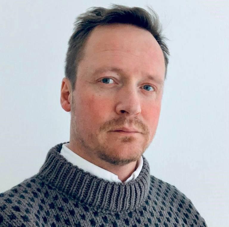 Gunnar Vilberg, rådgiver ved Viken fylkesbibliotek.