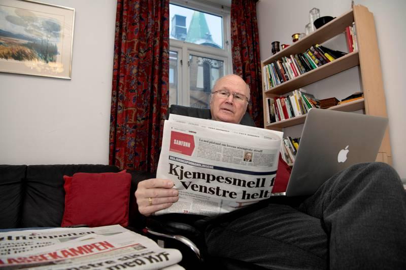 Odd Egil Rambøl. Siviløkonom og sosiolog, tidligere kommunalråd og leder Ap i Bergen. Hobby: moderne historie.