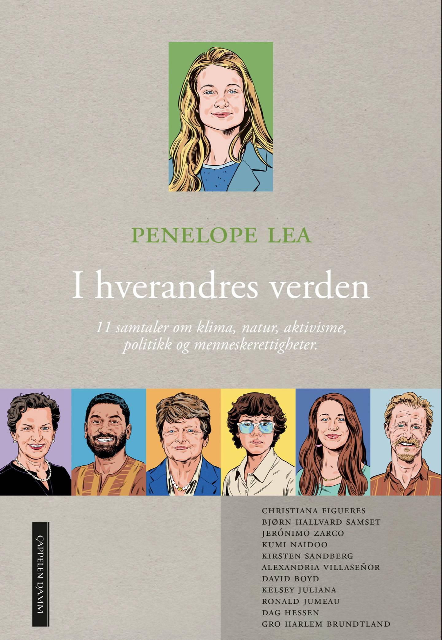"""Penelope Leas bok """"I hverandres verden"""" kommer på lager og i butikk 23. august."""