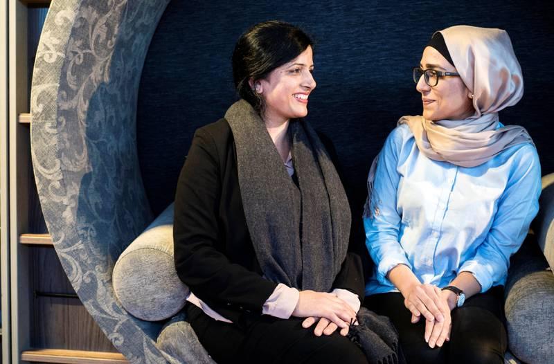 Initiativtaker til bydelsmødre, Nasreen Begum, inspirerer datteren Tehrim Ahmed.