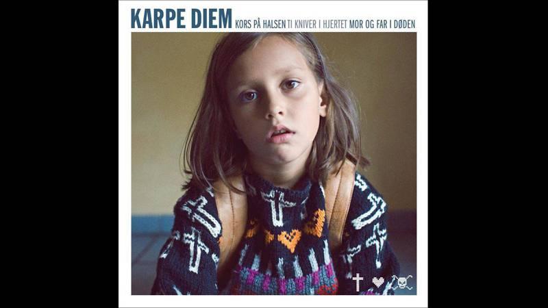 Karpe Diem: «Kors på halsen...» (2012). Design: Are Kleivan.