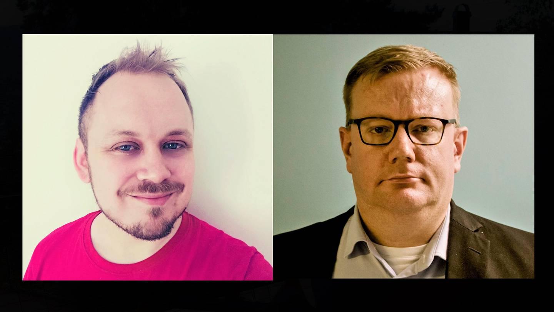 Victor Håland og Olav Lægreid